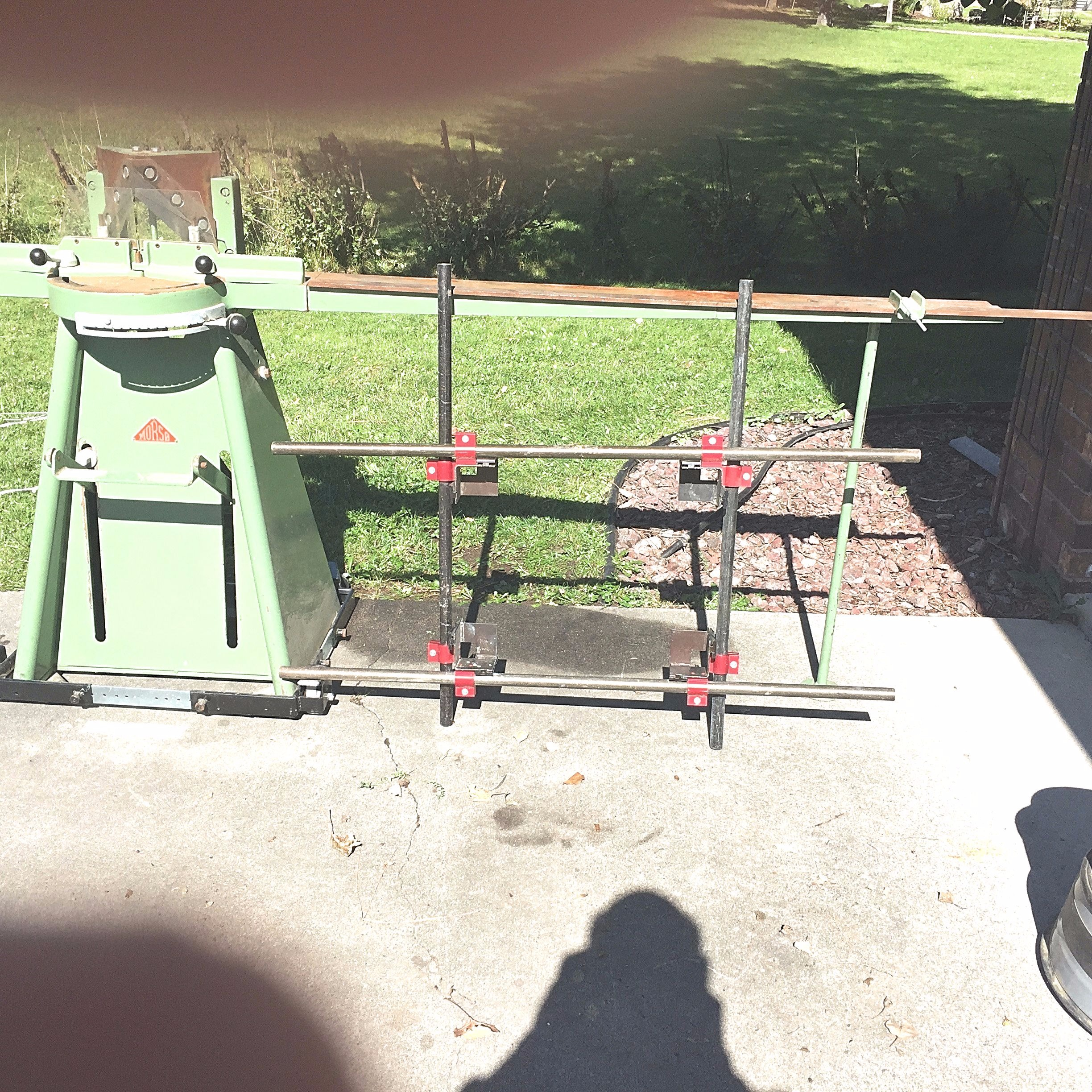 Used Pre Owned Morso Pneumatic Manual Foot Operated Chopper, Buy ...