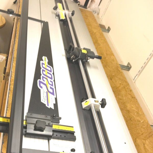 Used Fletcher Terry 2200 Mat Cutter, Buy Sell Pre Owned Picture ...