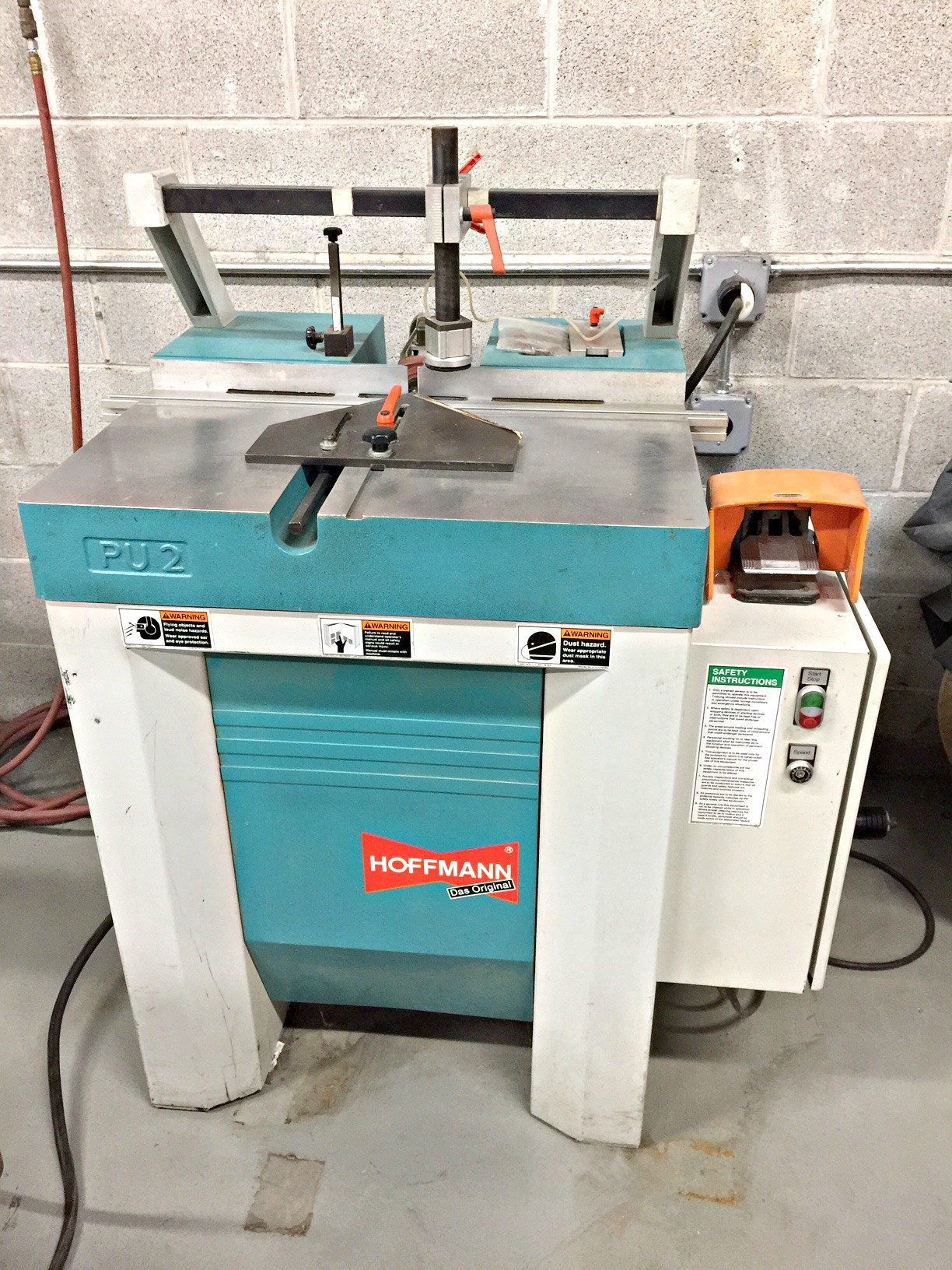 Used Hoffmann MU2 Bench Top Dovetail Routing Machine, Buy