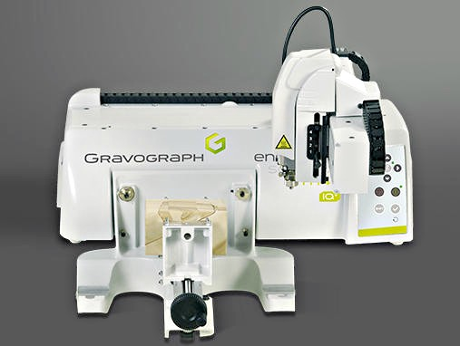 Gravograph Mechanical Engraver M40 Series Rotary