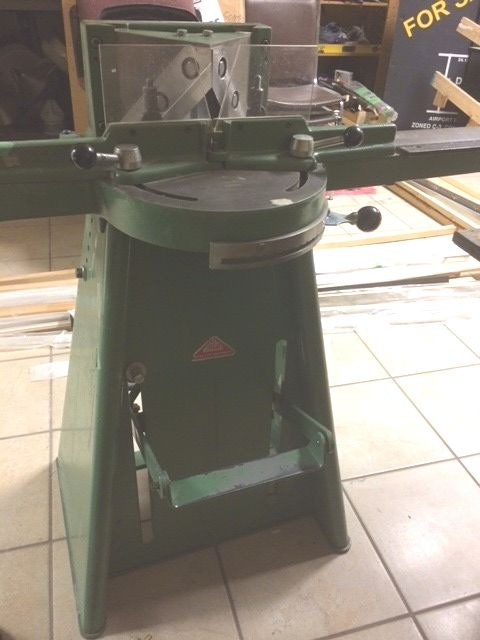 Used Morso F Manual Foot Operated Chopper Picture Framing Equipment