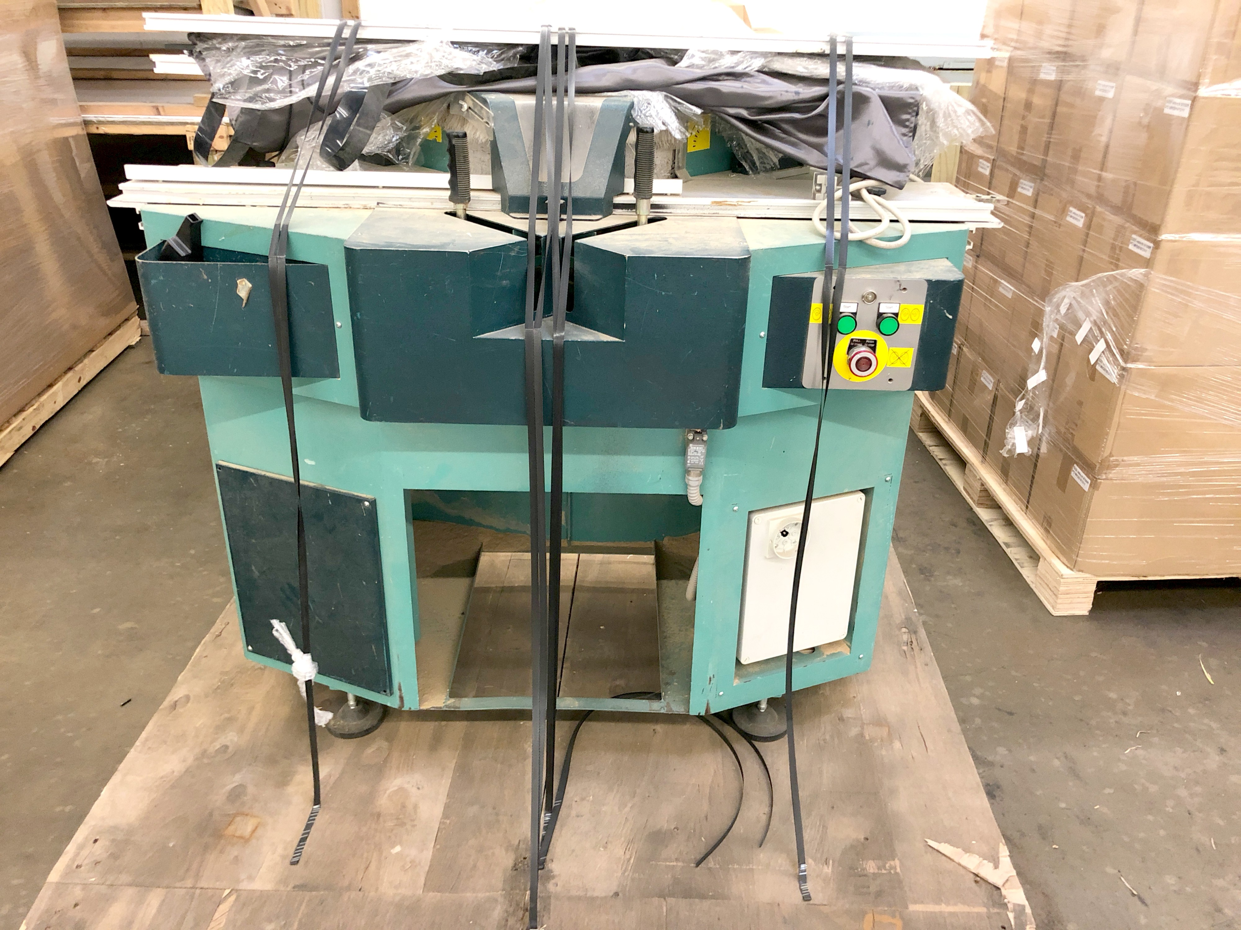 Used Brevetti Maxi Ce Double Mitre Miter Saw Framing Equipment
