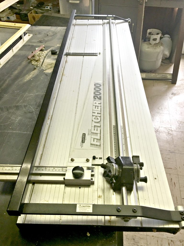 Used Fletcher Terry 2000 48 Quot Inch Mat Cutter Buy Sell