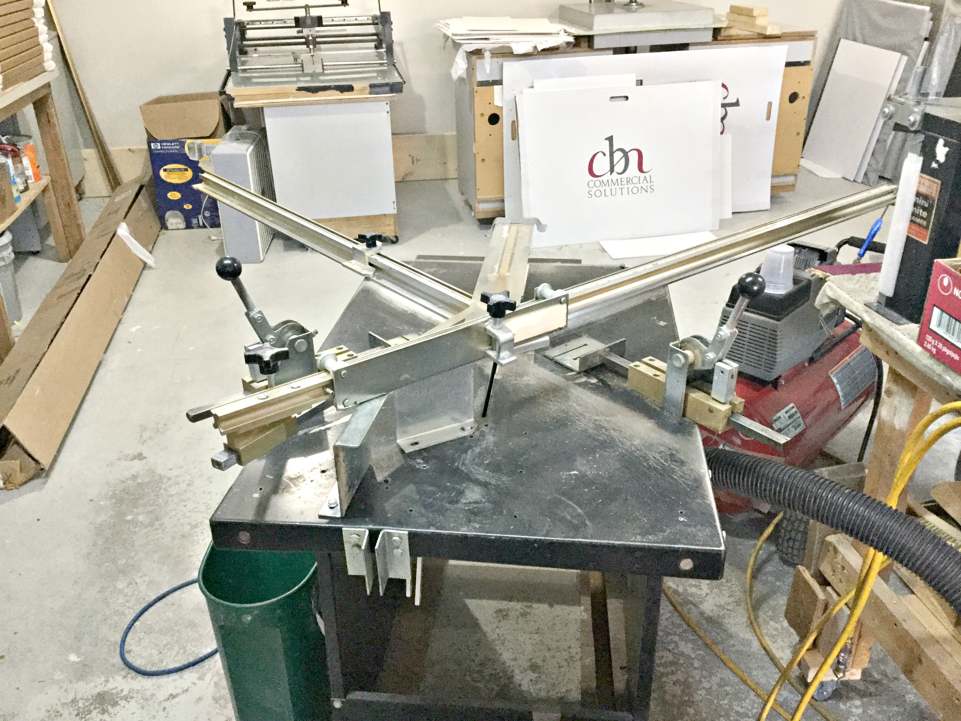 For Sale Entire Frame Shop Picture Framing Equipment Lot