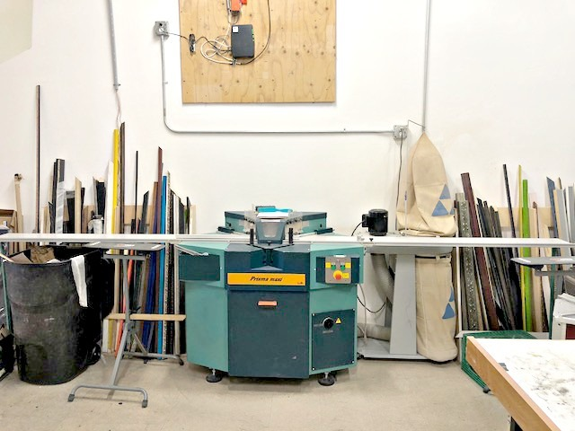 Used Brevetti Prisma Maxi Double Miter Saw Mitre Picture Framing