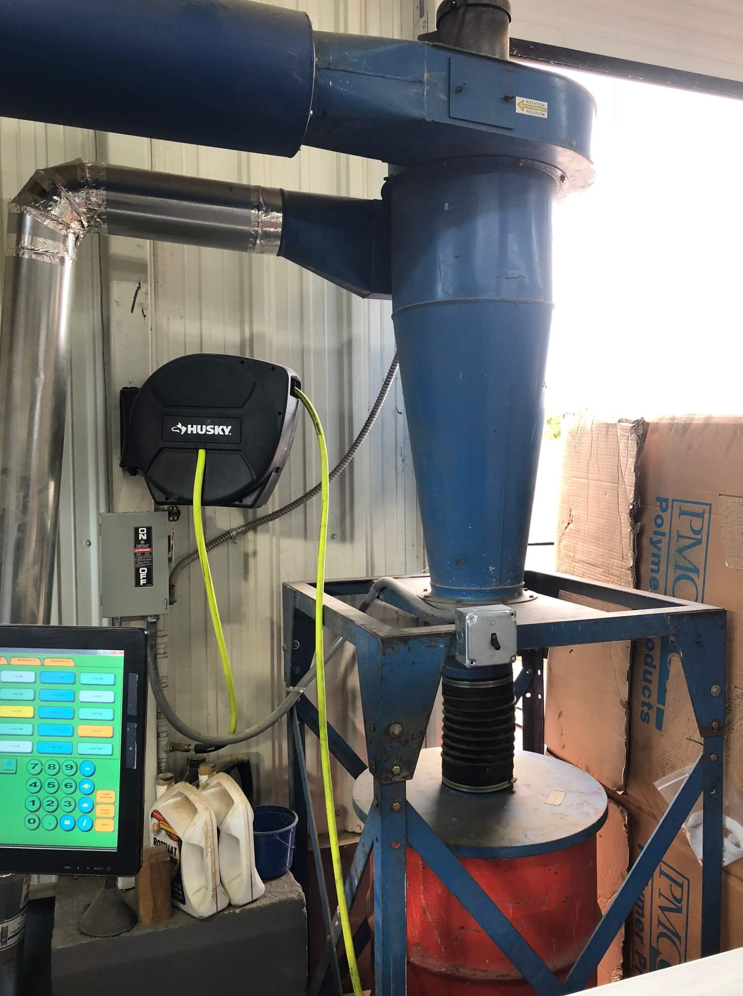 Used Donaldson Torit 19 Dust Collector Jet Afs 1000b