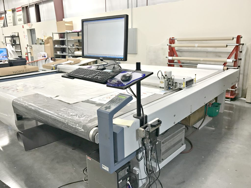 Used Zund 2xl 3000cv Digital Flatbed Cutter For Sale Swiss
