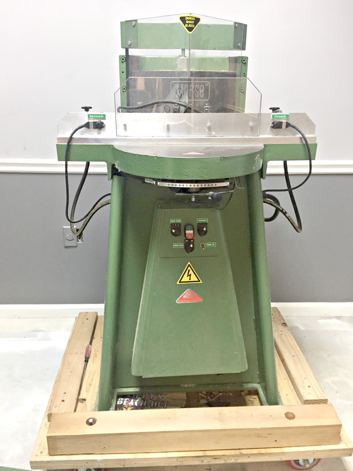 Used Morso Ehxl Guillotine Chopper For Sale Frame Shop Equipment