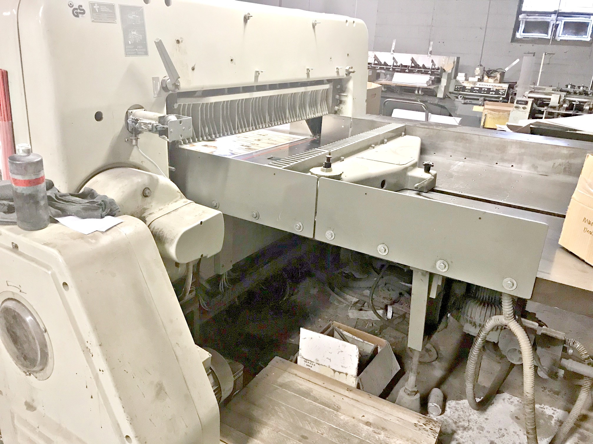 Used Polar 137 Emc 54 Quot Paper Cutter For Sale Frame Shop