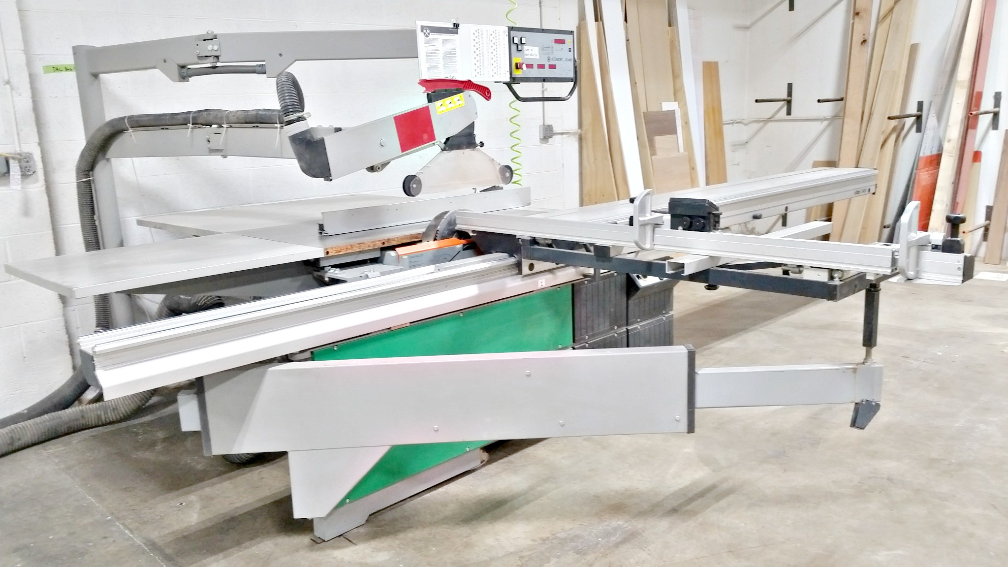 Panel Saw For Sale >> Altendorf F 45 Elmo 3 Programmable Sliding Bed Panel Saw Used Item Ugw 25