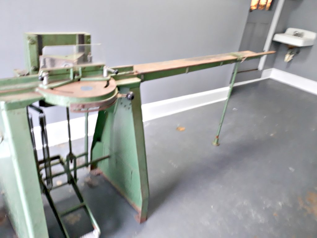 Used Picture Framing Equipment Lot Frame Shop For Sale