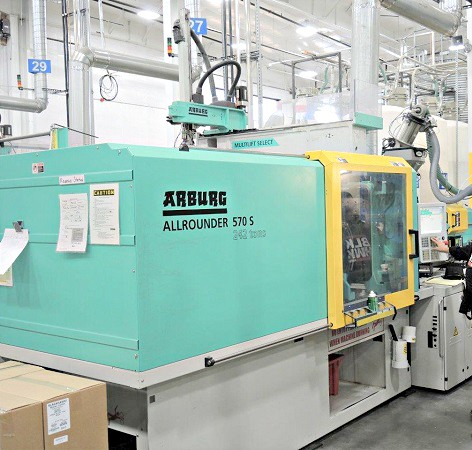 Used Arburg 570S-220-800 Plastic Injection Molding Machine